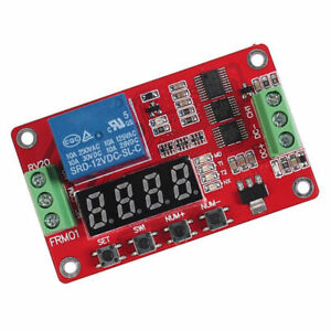 18 Functions 12v Useful 12v Relay Plc Cycle Timer Module Delay Time Switch