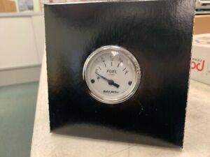 Auto Meter 2 1 16 American Platinum Fuel Level Gauge 1904