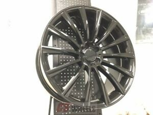 4 Set Of Brand New S550 Style 20 Amg Black Rims Wheels Fits Mercedes Benz