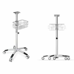 Us Rolling Stand For Contec Patient Monitor Cms8000 Trolley Cart Bracket Go cart