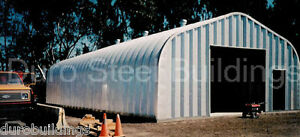 Durospan Steel 30 x50 x15 Metal Building Diy Home Shop Garage Kit Factory Direct