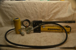 Enerpac P391 Pump And Rc254 Cylinder