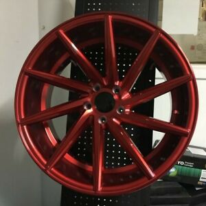 19 Swirl Style Candy Red Wheels Rims Lexus Is Is250 Is300 Is350 F Sport Fsport