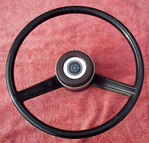 81 To Dodge Ramcharger W150 250 Steering Wheel W Horn Button Oem