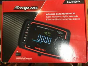 Snap on Eedm596fk Advanced Digital Multimeter Bluetooth Enabled