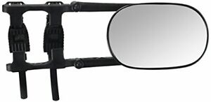 Fit System 3891 Deluxe Universal Clip On Trailer Towing Mirror With Viewing Area