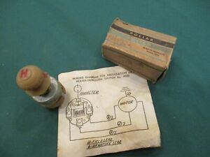 1942 1948 Ford Heater Switch 6v