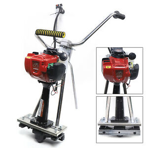 New 35 8cc Concrete Power Vibrating Screed 4 Stroke Gas Engine Cement Us