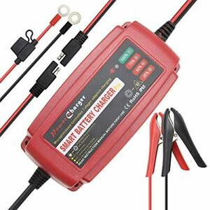 Car Battery Charger 5 Amp 12v Automotive Smart Battery Charger Maintainer