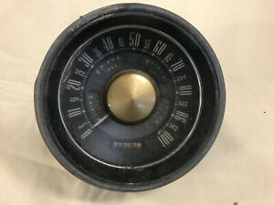 1951 Ford Car Speedometer