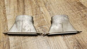 1942 1946 1947 1948 Ford Defroster Vent Dash Duct Pair 1949 1950 Car Truck