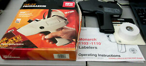 Monarch 1105 One Line Price Marker Labeler Price Gun W Ink Roller New Lables