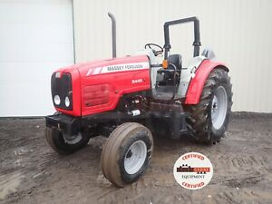 2005 Massey Ferguson 5445 Tractor 2 Post Rops 2 Rear Remotes 540 Pto 246 Hrs