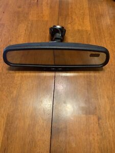 Gm Ford Auto Dim Rear View Mirror Gntx 177 Single Display 7 Pin Temp Compass