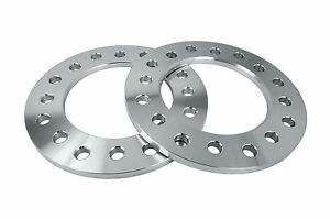 2 Pc 8 Lug Dually Wheel Spacers 8x200 Mm 8x210 Mm 1 2 Thick Billet Aluminum