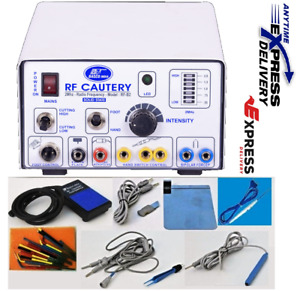 Brand New Electro Cautery 2 Mhz High Frequency Unit Dental Procedures Machine