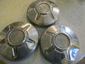 1970 1974 Ford Motor Company 10 5 Dog Dish Hubcaps wall Hanger Rat Rod