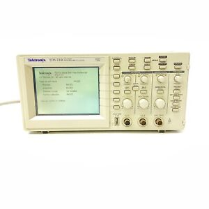 Tektronix Tds 210 Digital Real Time Oscilloscope Two Channel 60 Mhz