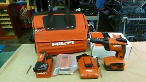 Hilti Sd 4500 a22 Drywall Screwdriver 2 Batteries Cpc Charger Sd m1 Bag
