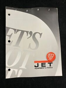 Jet Metalworking Equipment And Tools Catalog 1991
