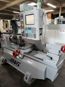 Haas Tl 2 Cnc Flat Bed Lathe Turning Center Low Hours Loaded