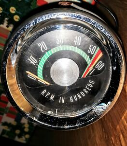 Oem 1965 66 67 68 69 Oldsmobile 442 Console Factory Tachometer Complete