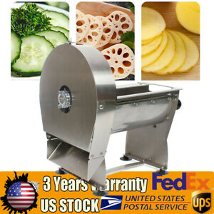 Electric Commercial Use Home Vegetable Potato Chopper French Fries Cutter Slicer