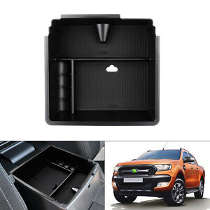 For Ford Ranger 2015 2018 2019 2020 Center Console Armrest Storage Tray Box
