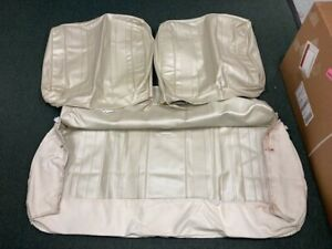 1970 Chevelle Pearl Front Bench Seat Covers Used Good Condition Distinctive