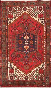 Medallion Hand Knotted Geometric Traditional Oriental Area Rug Foyer Carpet 3x5