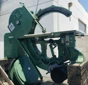 Rare 1980 Tannewitz Model B 11 38 Automatic Bevel Tilting Band Saw 100k New