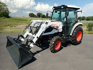 New 2020 Bobcat Ct5558 Compact Tractor W loader cab Heat ac 4x4 Hydro 540 Pto