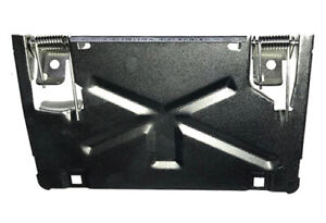 License Plate Flip Up Bracket For Rollpans And Hidden Hitches