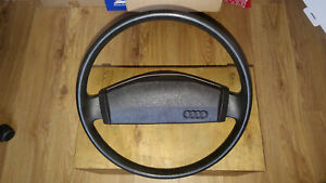 Audi 80 100 B2 Steering Wheel Dark Brown