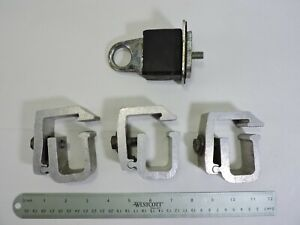 Set 3 Of Aluminum Truck Cap Clamps Truck Bed Stake Pocket Anchor