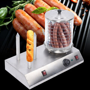 Electric Home Commercial Hot Dog Steamer Machine Bun Warmer Machine Bread Maker