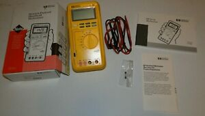 Hp Hand Held Multimeter Model 971a Orginal Box W user s Guide Lightly Used