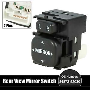 Car Power Rear View Mirror Switch Remote Control 84872 52030 For Toyota Prius V