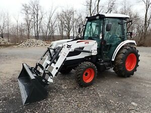 New 2020 Bobcat Ct5545 Compact Tractor W Loader Heat ac Hydro 4x4 45 Hp