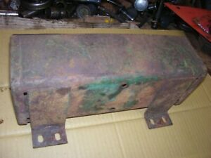 Vintage Oliver 77 Diesel Row Crop Tractor tool Box Cover As Is