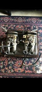 Dual Weber Carburetors