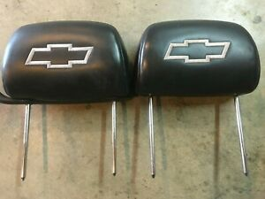 00 01 02 03 04 05 2001 Monte Carlo Head Rest Black With White Bow Tie Pace Car