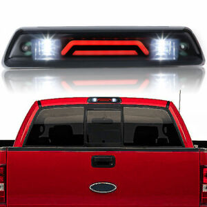 Smoke Rear Roof 3rd Brake Cargo Led Tail Light Lamp For Ford F 150 F150 09 14