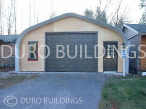 Durospan Steel 30x32x15 Metal Building Diy Home Shop Garage Kit Open Ends Direct