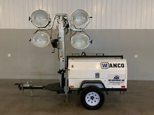 2019 Wanco Wltv Mobile Light Tower 2695 Hours Kubota Diesel 8kw