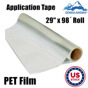 Us Stock 29 X 98 Roll Application Tape For Cad Printable Heat Transfer Vinyl