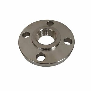 Stainless Steel Flange 1 1 4 Inch Npt Thread 304 Ss Class 150