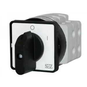 Sez Cam Switches 0 1 40a Rotary Switch 500v 4p Main Switch Handle