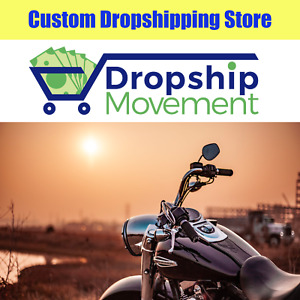 Custom Motorcycle Accessories Website Design 100 Turnkey Shopify Storefront