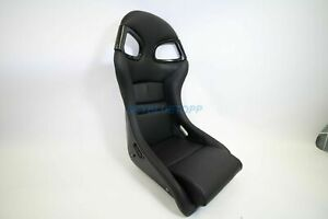 Porsche 996 Gt3 Seat Black New Leather Black Frp Backing 911 997 996 Gt2 Rs
